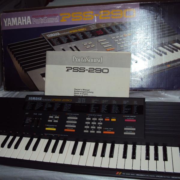 Vale do paraíba r$ 350 teclado yamaha porta sound pss-290