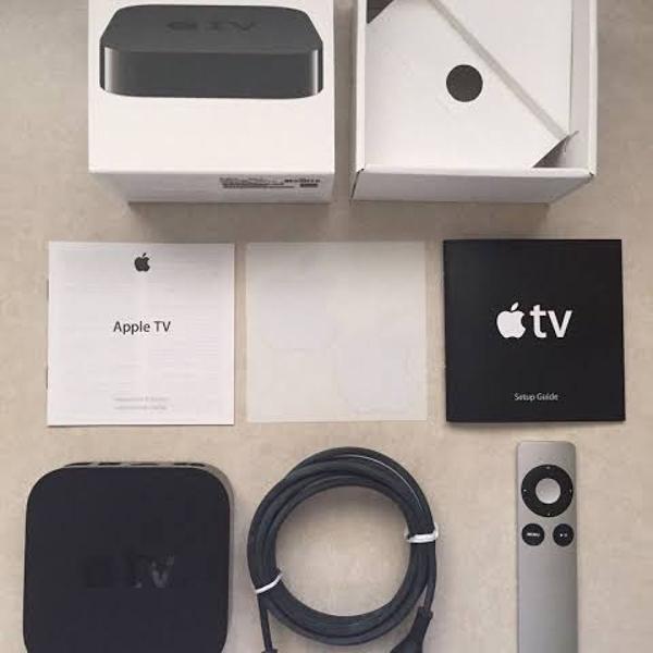 Apple tv 3° geração 1080p