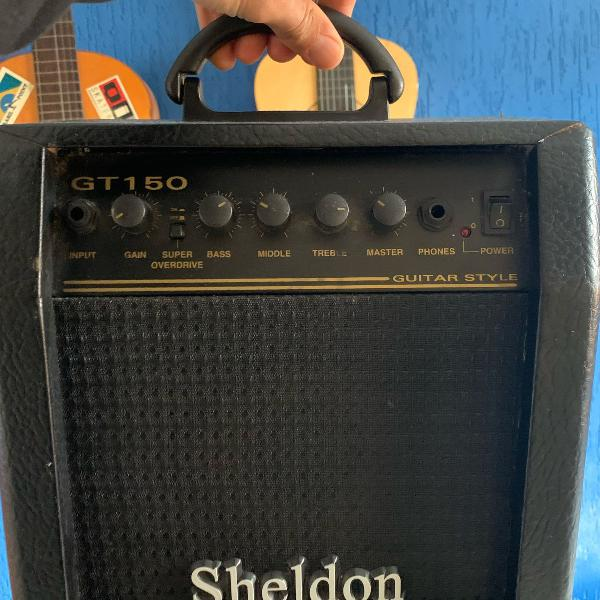 Caixa amplificado para guitarra