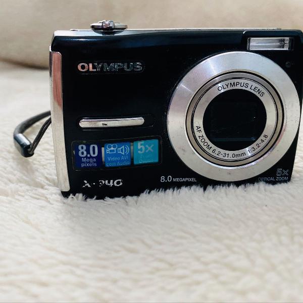 Câmera digital olympus x-840 8.0 megapixels