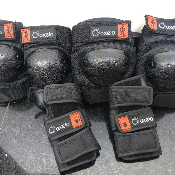 Kit proteção infantil para rolê seguro