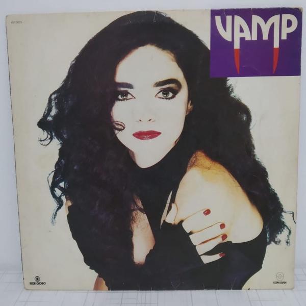 Lp com a trilha sonora da novela vamp