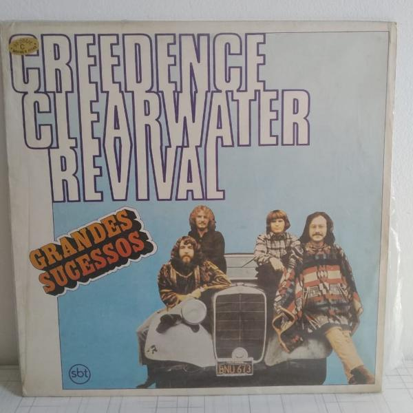 Lp creedence clearwater revival - grandes sucessos