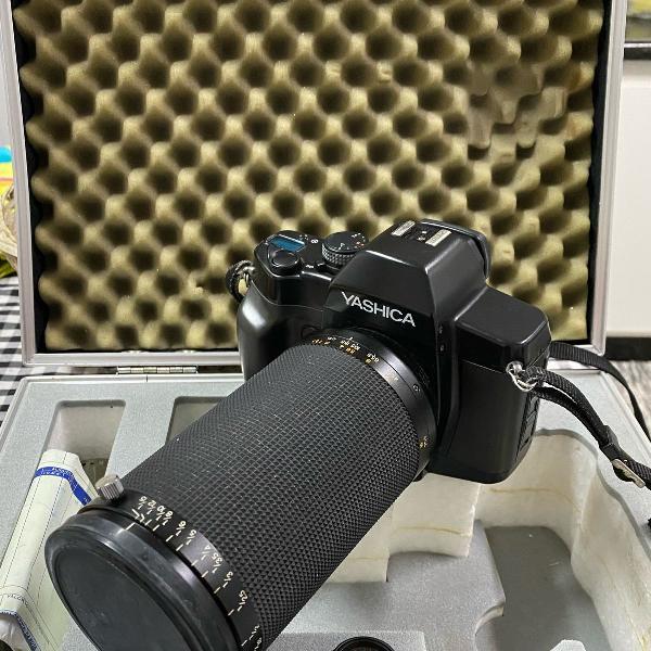 Máquina fotográfica analógica, yashica dental eye
