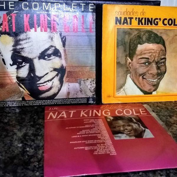 Nat king cole lp disco vinil coletânea, the complete,