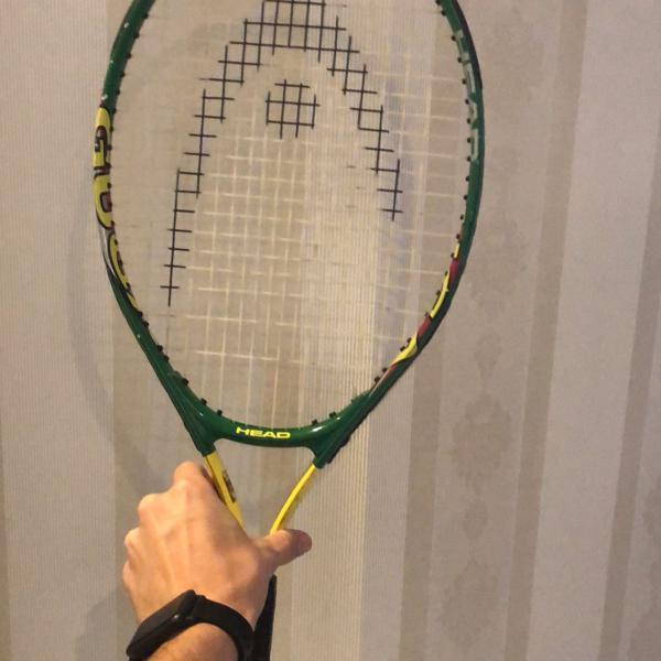 Raquete de tênis head para crianças