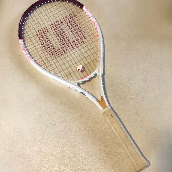 Raquete de tênis wilson hope