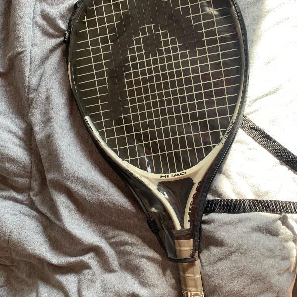 Raquete tênis júnior + kit bolinhas