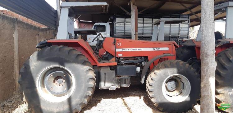 Trator massey ferguson 680 4x2 ano 07