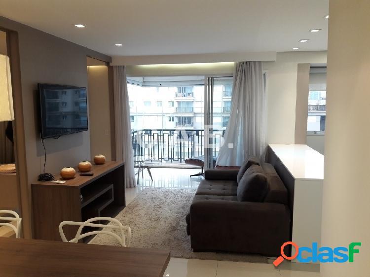 Apartamento mobiliado para locação alpha park