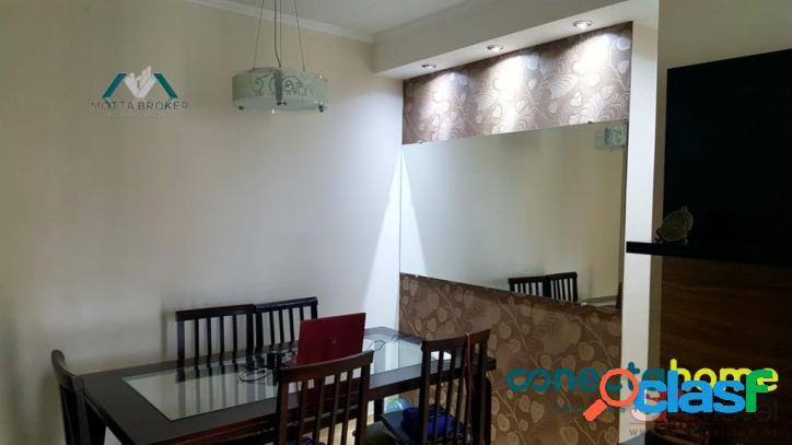 Apartamento a 10 min da estação santana, 65 m², 3 dormitórios 1 vaga