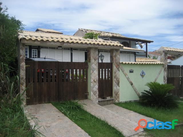 Casa colonial alto padrão - venda - são pedro da aldeia - rj - ponta da areia