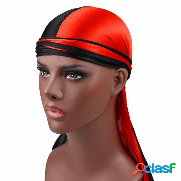Mens womens summer respirável uv proteção boa elástica wicking cap ciclismo headband