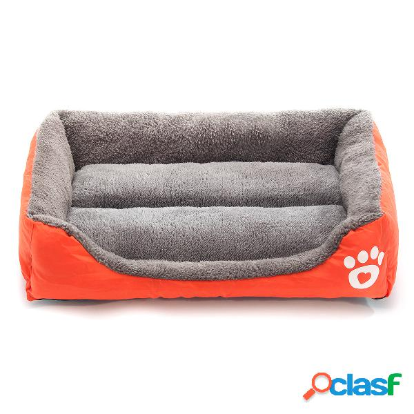 Xxxl pet dog cat bed almofada puppy casa pet soft warm kennel dog mat blanket