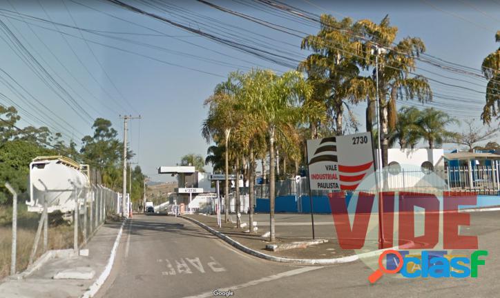 Lote industrial, Condomínio VIP - Vale Industrial Paulista.