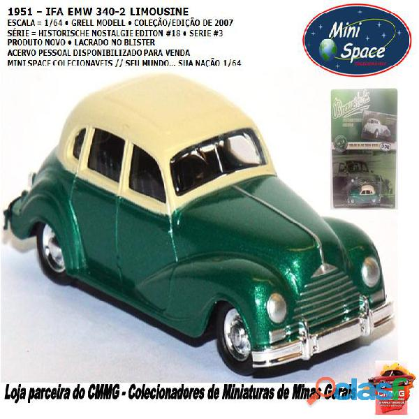 Grell modell 1951 emw 340 2 limousine 1/64