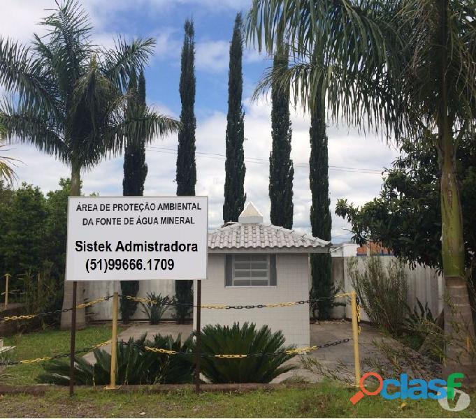 Vende se fonte de agua mineral, alugamos o prédio novo no RS Brasil 7