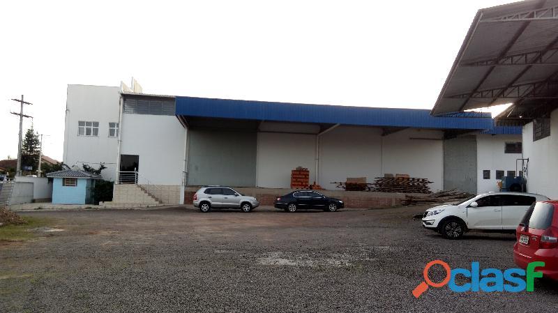 Vende se pavilhão industrial 4.769,08m2 próprio para indústria ou CD de Empresas. 5