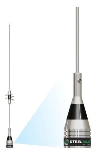 Antena dual band vhf 1/4/ uhf 5/8 onda ap0188