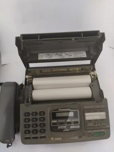 Antigo fax panasonic kxf 890 la com duas bobinas novas