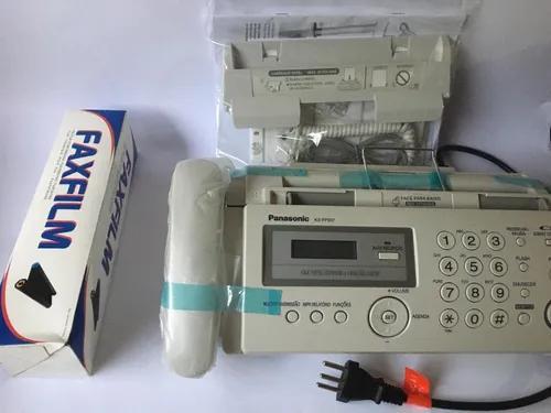 Aparelho de fax panasonic kx- fp207 (novo)