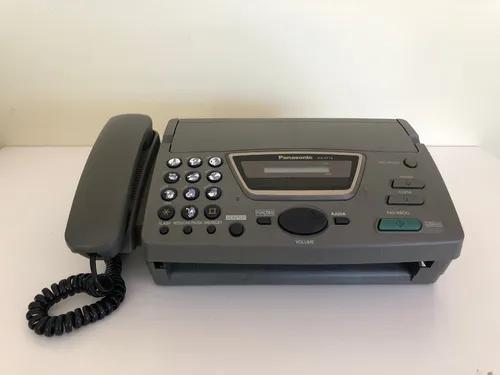 Aparelho telefone fax panasonic kx ft72 - funcionando