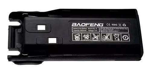 Bateria extra baofeng rádio portátil uv 82 uv 8d uv 89