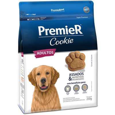Biscoito premier pet cookie para cães adultos