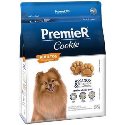 Biscoito premier pet cookie para cães adultos raças
