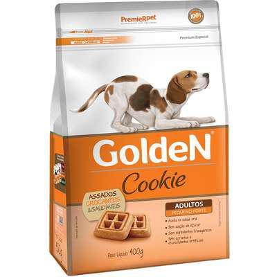 Biscoito premier pet golden cookie para cães adultos mini