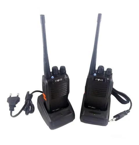 Kit 2 rádio comunicador walk talk 16 canais profissional