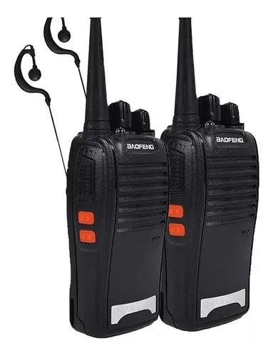 Kit 4 radio comunicador kit 4 walk talk até 12km bf 777s