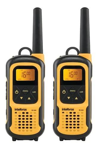 Kit rádio comunicador waterproof ip 67 rc 4100 intelbras