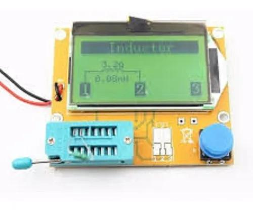 Medidor esr m328 transistor capacitor