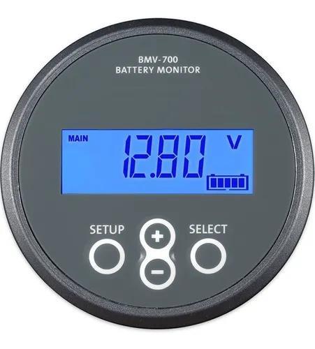 Monitor de bateria wattimetro voltimetro amperimetro 500amp