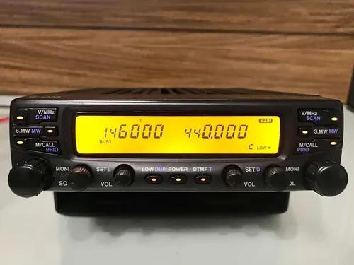 Radio amador icom ic 2710 h dual band vhf uh yaesu 2100 2820
