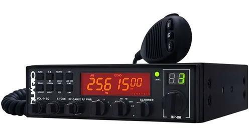 Radio px amador aquario 80 canais am fm rp-80 (anatel)