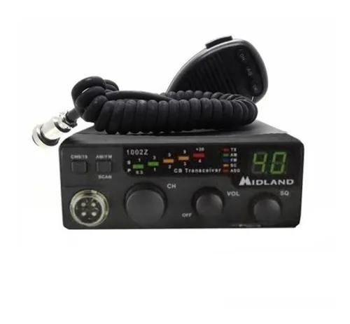 Rádio amador comunicador px midland 1002z 40 canais am fm
