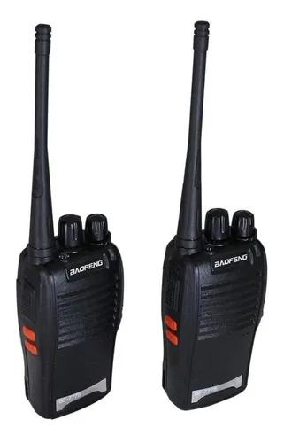 Rádio comunicador walk talk baofeng 777s alcance 12km 16