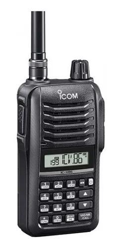 Rádio icom ic-v86 transceptor portátil vhf 7w