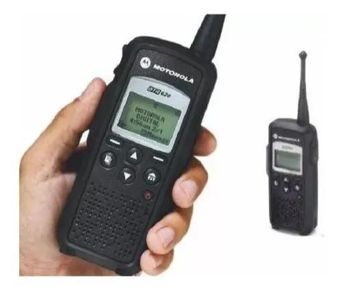 Rádio Portátil Digital Dtr 620 Motorola / Novo