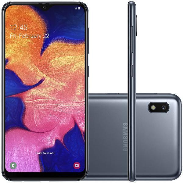 """Smartphone samsung galaxy a10 32gb 6.2"""" 2gb de ram câmera"""
