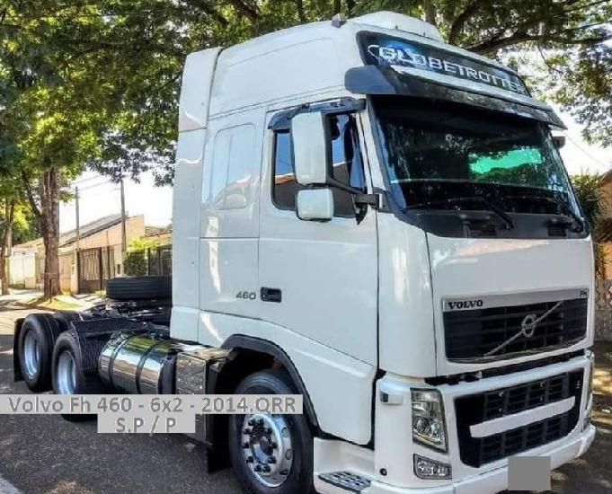 Volvo fh 460 - 6x2 globetrotter aut.i.sifht ano - 2014