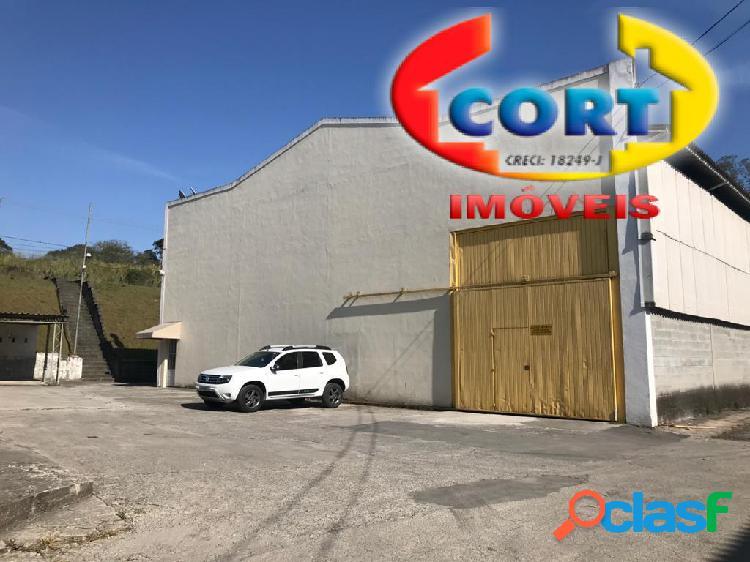 Galpão industrial em condomínio de mogi das cruzes/sp!!!