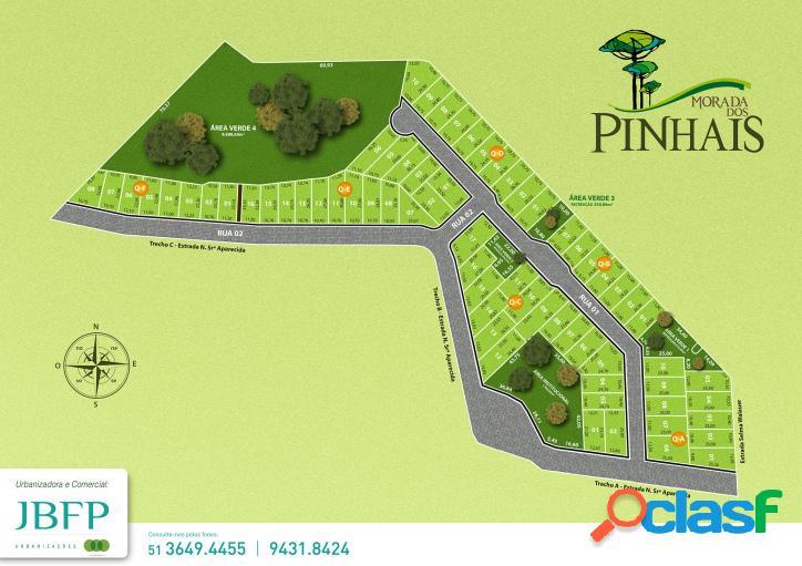 Terreno no Loteamento Morada dos Pinhais - Lote 5 quadra A