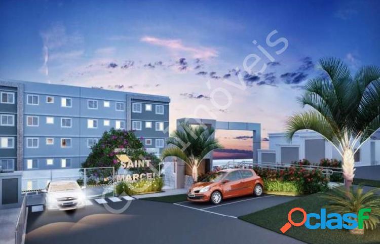 Apartamento com 2 dorms em santana de parnaíba - chácara estela por 163.9 mil à venda
