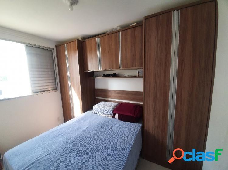 Apartamento edifício jeribá mrv villa branca jacareí sp 44 m² - 1 vaga