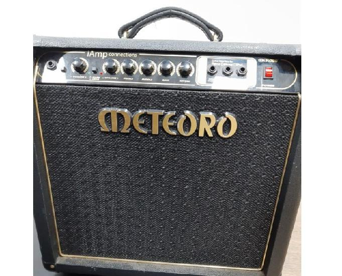 Amplificador p guitarra meteoro 50w iamp connections