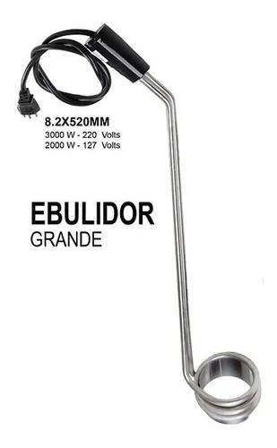 Aquecedor agua eletrico ebulidor grande 3000w 220v inmetro