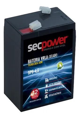 Bateria 6v 4,5ah - carrinhos eletricos e brinquedos